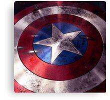 Shield Captain Canvas Print