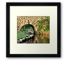*Picturesque and Peaceful* Framed Print