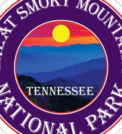 GATLINBURG TENNESSEE GREAT SMOKY MOUNTAINS NATIONAL PARK SMOKIES 3 Sticker