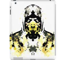 Rorschach Scorpion (MKX Version) iPad Case/Skin