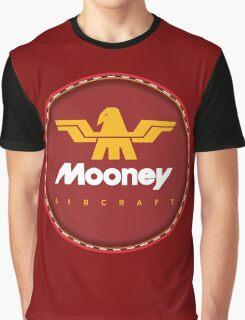 Mooney Vintage Aircraft USA Graphic T-Shirt