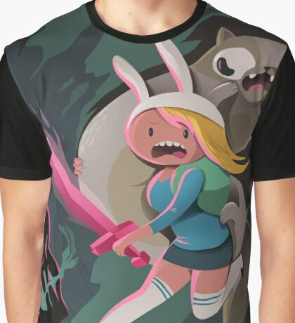 Fionna and Cake Graphic T-Shirt