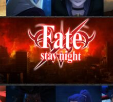 Fate Stay Night Sticker