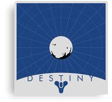Minimalist Destiny Poster Canvas Print
