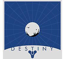 Minimalist Destiny Poster Photographic Print