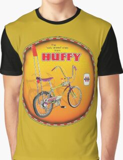Huffy Vintage Highrise Bicycles USA Graphic T-Shirt