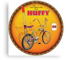 Huffy Vintage Highrise Bicycles USA Canvas Print