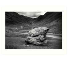 Honister Pass Lake District UK Art Print