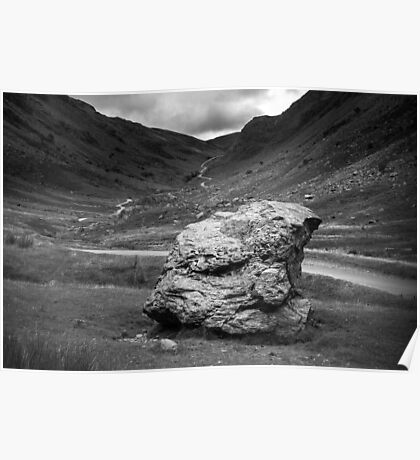 Honister Pass Lake District UK Poster