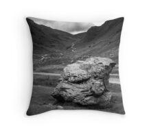 Honister Pass Lake District UK Throw Pillow