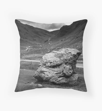 Honister Pass Lake District UK Throw Pillow