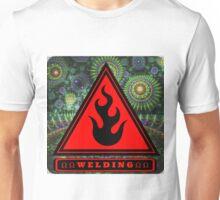 Welding Ω Button Unisex T-Shirt