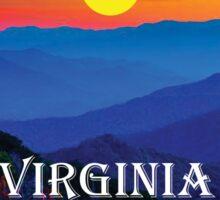 SHENANDOAH NATIONAL PARK VIRGINIA MOUNTAINS HIKING BIKING CAMPING Sticker