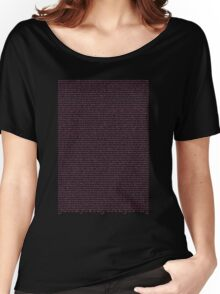 the queen is dead Women's Relaxed Fit T-Shirt