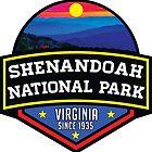SHENANDOAH NATIONAL PARK VIRGINIA MOUNTAINS HIKING BIKING CAMPING by MyHandmadeSigns