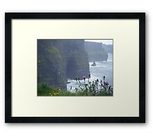 cliffs of moher, co. clare.  Framed Print
