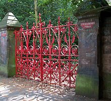 Strawberry fields Gates Liverpool by Lawson Clout