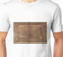 Vintage Pictorial Map of Toronto Canada (1876) Unisex T-Shirt