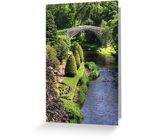 Bridge over the Doon Greeting Card