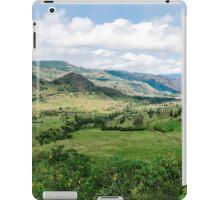 Yunguilla Valley in the Andes Mountains, Ecuador iPad Case/Skin