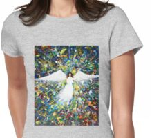 Healing Angel 1 Womens Fitted T-Shirt