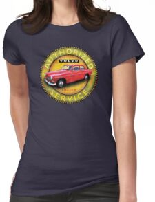 Volvo 121 122 Amazon Sweden Womens Fitted T-Shirt
