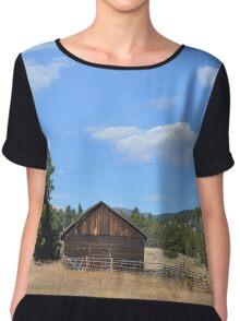 Colorado Barn Chiffon Top