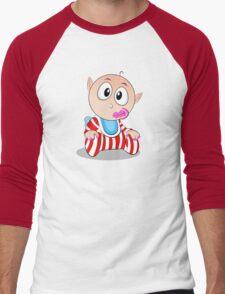 Baby Ollie Pops Men's Baseball ¾ T-Shirt