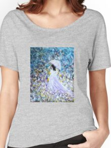 Walk In The Garden Women's Relaxed Fit T-Shirt