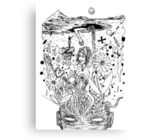 All You Need is Love.. and Doodles Canvas Print
