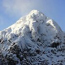 The Buachailles Snowy Summit by beavo