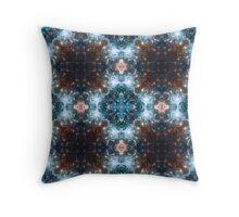 Kaleidoscope Stars And Space Throw Pillow