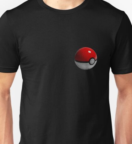 Low Poly Poke Ball Unisex T-Shirt