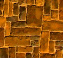 Garage Bricks Sticker