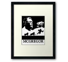 Conor Mcgregor Framed Print