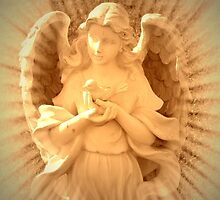 Angel Of Peace  by Marie Sharp