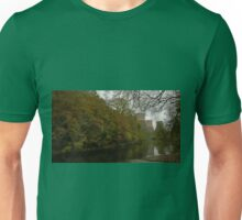 Red Towers of Ironbridge Power Station reflecting on the  Unisex T-Shirt