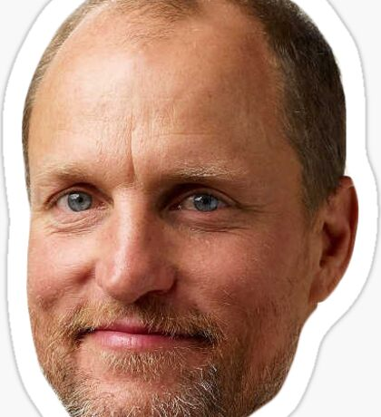 Woody Harrelson Sticker