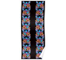 Cute Floral Pattern Poster