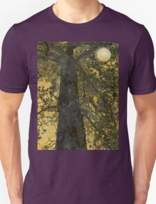 Pecan Tree and Moon Unisex T-Shirt