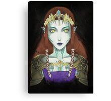 Possessed Zelda Canvas Print