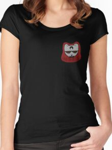 Usabjørn Like A Boss Women's Fitted Scoop T-Shirt