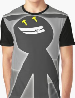 Stick Figure Graphic T-Shirt