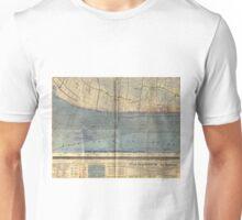 Vintage Utah Beach D-Day Invasion Map (1944) Unisex T-Shirt