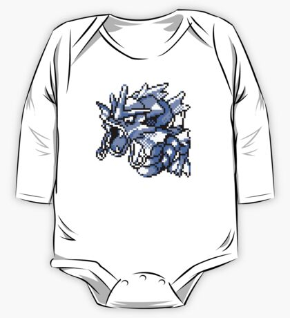 Gyarados - Pokemon Red & Blue One Piece - Long Sleeve