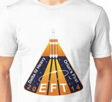 EFT-1 Orion Flight Team Loogo Unisex T-Shirt