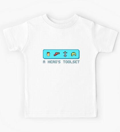 A Hero's Toolset Kids Tee