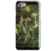 The Hobbit - King Under the Mountain Paint Splash  iPhone Case/Skin