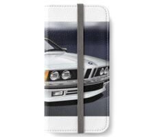 Poster artwork - E24 6 Series 635 CSI White iPhone Wallet/Case/Skin