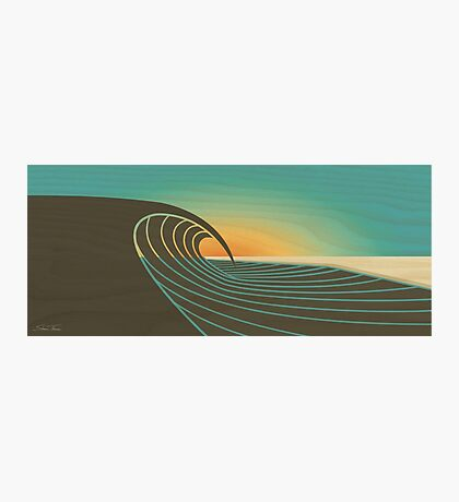 Sunset Peak  Photographic Print